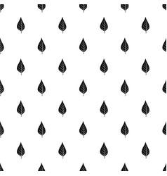 Apple tree leaf pattern vector
