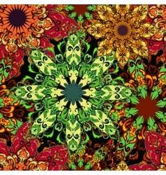 mandala seamless pattern 2 vector image