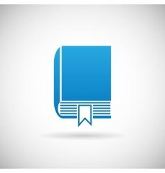Study bookmark symbol book icon design template vector