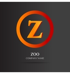 Z Letter logo abstract design vector image