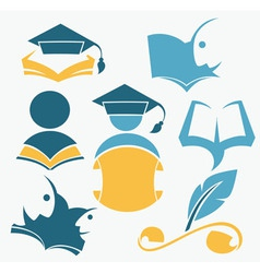 Study and diploma vector