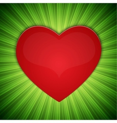 Background with heart-shape vector