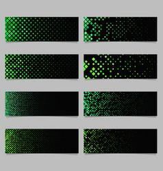 Abstract digital diagonal square mosaic pattern vector