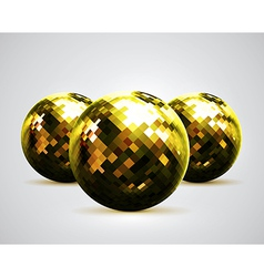 Disco balls vector