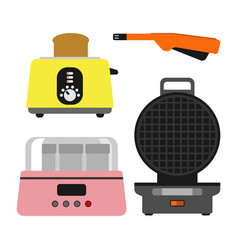 old fashioned toaster vector image