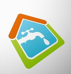 Tap water stock vector