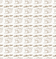 Coffee texture vector