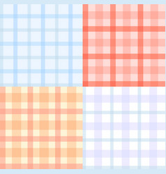 Plaid pattern seamless vector