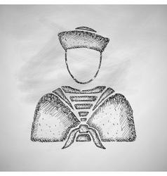 Sailor icon vector