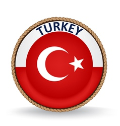 Turkey seal vector