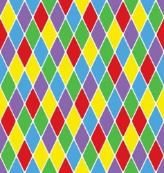 Harlequin pattern vector