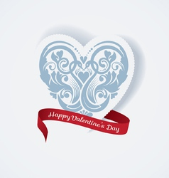 Valentines day love heart vector