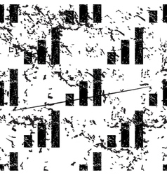 Volume scale pattern grunge monochrome vector