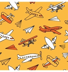 Seamless pattern of plane vector