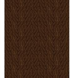Coffee bean background pattern vector