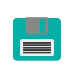 Isolated diskette device design vector