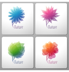 nature - elements for design vector image vector image