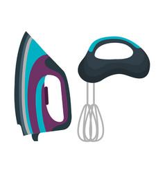 home appliances tech icon vector image