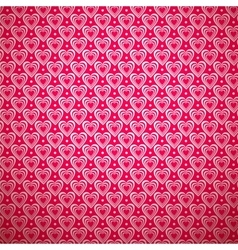 Valentine day pattern with shadow vector