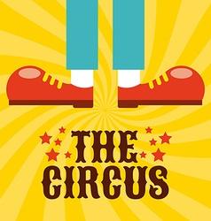 circus design vector image