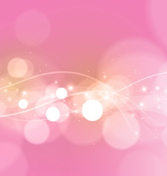 Bright Abstract Pink Background vector image