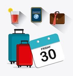 Friday celebration design vector
