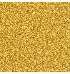 Golden Glitter Texture vector image