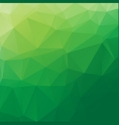 Green poly abstract background vector
