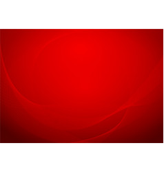 Background with folded red royal silk vector