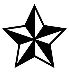 Star symbol vector