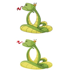 Smart snake vector