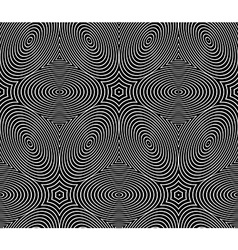 Contemporary abstract endless background vector image vector image