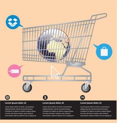 e-commerce vector image