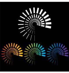 spirials vector image vector image