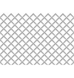 White Grid Texture vector image vector image