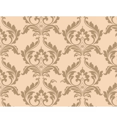 Classic floral ornamented pattern background vector