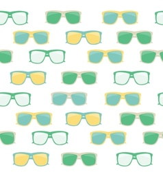 Glasses and sunglasses seamless pattern vector