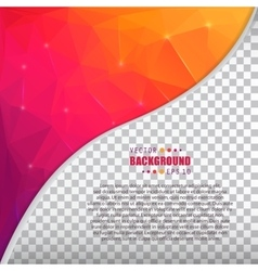 Abstract creative concept booklet list for vector
