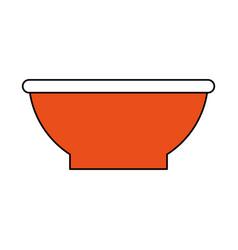 bowl vector image vector image