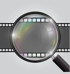 frame magnifier vector image