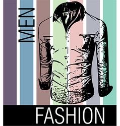 Men fashion shirts vector image