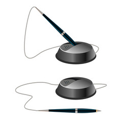 office pens vector image vector image