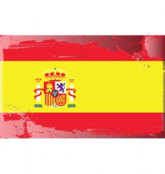 spanish national flag vector image vector image