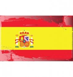 Spanish national flag vector