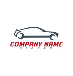 mechanic car design vector image
