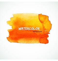 Watercolor design vector