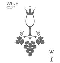 Abstract wine vector