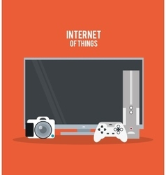 Internet of things design vector