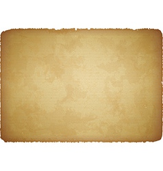 Aged paper with torn edges vector image