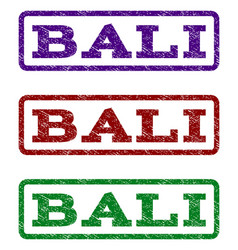 Bali watermark stamp vector